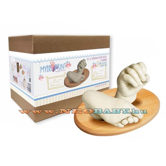 BABYPRINT Baba kéz és láb szobor készítő készlet nagy - Babaszoba ... 08ab1b4809