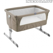 CHICCO Next To Me babaágy Cod.:CH0707933972/Dove Grey
