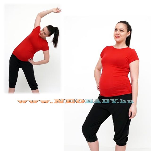 fed710899 R&D Kismama jóga nadrág / S-M 01420 - fekete - Kismama és szoptatás ...