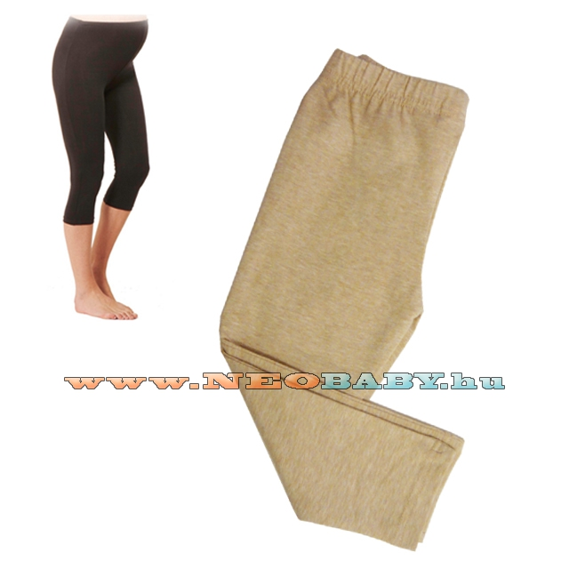 7ba865ac77 R&D Kismama legging 3/4-es (M) 01129 /bézs - Kismama és szoptatás ...