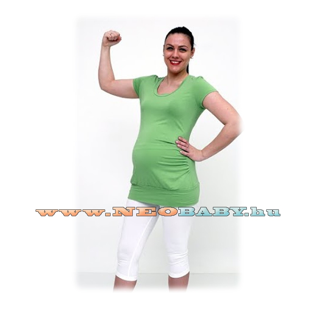 942539ba6e R&D Kismama legging 3/4-es( M) 01129 /fehér - Kismama és szoptatás ...