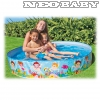 INTEX Beach days merevfalú medence  56451NP -152*25