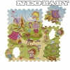 CHICCO  Szivacs puzzle CH0071640/candy village (9db)