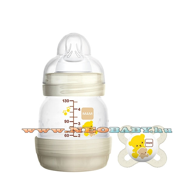 MAM Anti-Colic cumisüveg 130ml + start cumival