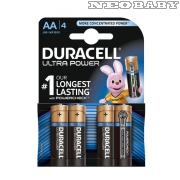 DURACELL AA-LR6/MX1500 tartós ceruzaelem 4db Ultra Power