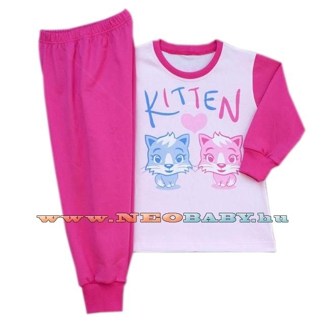 PAMPRESS pizsama lány hu (80-110) TPCIC50114 Cicás - Ruházat és cipő ... 6fafb04929