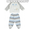 IDO DODIPETTO romper with feet - rugdalózó /6m 4.R403.00/8131