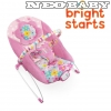 BRIGHT STARTS  pihenőszék  9kg-ig 60722-3/Butterfly cutouts bouncer