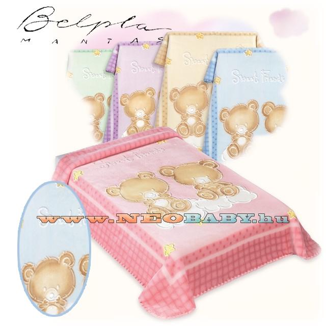 BELPLA BABY PERLA Gold pléd 80 110 110898-548 blue - Ruházat és cipő ... 160e74cfd9