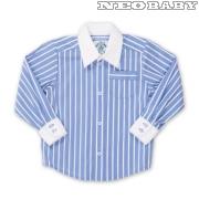 c33909bccf MIKKA hosszú ujjú ing 98-as Col.: v.kék - Ruházat és cipő/ MIKKA kollekció/  Alkalmi ruházat - NeoBaby bababolt kismama webáruház