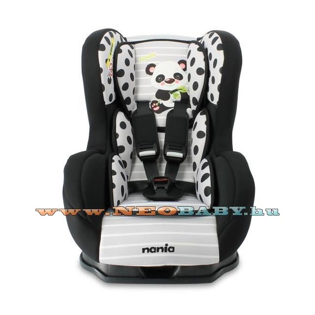 NANIA Cosmo SP Lux Animals Biztonsági gyerekülés Col. Panda ... caa248ebf7