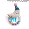 TAF TOYS mini moon rattle csörgő 12065/hold