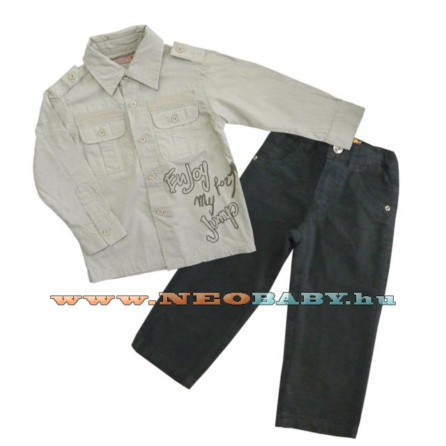 29e2764347 YATSI 2 részes együttes - fiú 82-3503 - Ruházat és cipő/ Neobaby ...