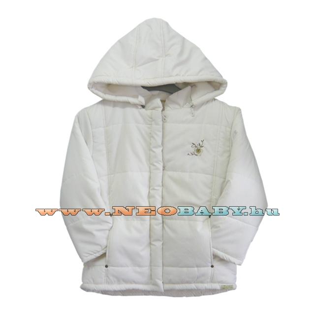 YATSI kabát téli lány 116-os 2397 ecru - Ruházat és cipő  Neobaby ... c749b3982f