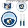 STERNTALER  étkezési szett 6801628/Stanley sheep children´s dinner set