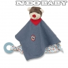 STERNTALER  szundikendő 32 cm 3221729/Bobby bear cuddle cloth