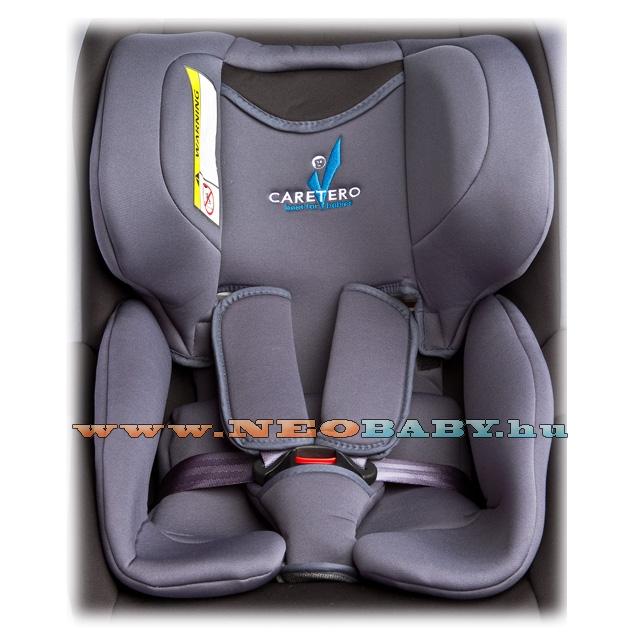 CARETERO CHAMPION Isofix-es biztonsági gyerekülés bázistalppal Col. grey 61e0968ba6