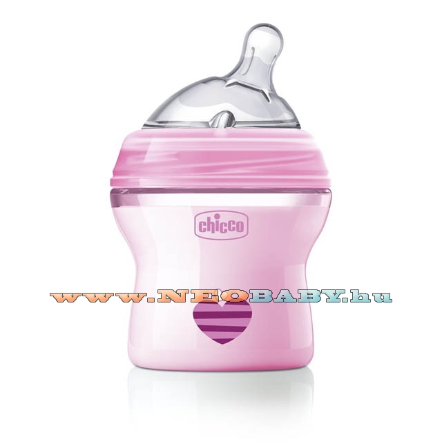 CHICCO Natural Feeling cumisüveg 150ml CH08081111/PINK