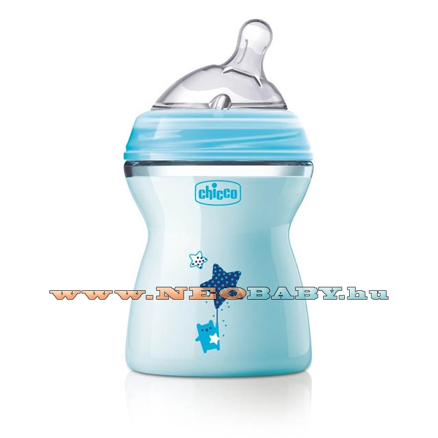 CHICCO Natural Feeling cumisüveg 250ml CH08082521/BLUE