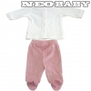IDO DODIPETTO two pieces romper suit with feet - Baby szett plüss /0 hó 4.T462.00/8146