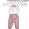 IDO DODIPETTO two pieces romper suit with feet - Baby szett plüss /6 hó 4.T462.00/8146