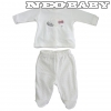 IDO DODIPETTO two pieces romper suit with feet - Baby szett plüss /6 hó 4.T462.00/8101