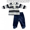 IDO DODIPETTO two pieces romper suit with feet - Baby szett plüss /3 hó 4.T201.00/8009