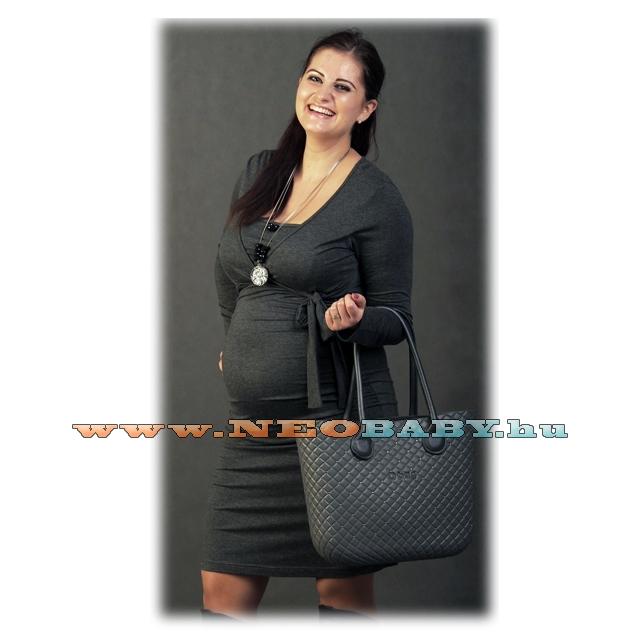 c015dfcc2 R&D Szofi kismama ruha (S-M) 01994/sötétszürke - Kismama és ...