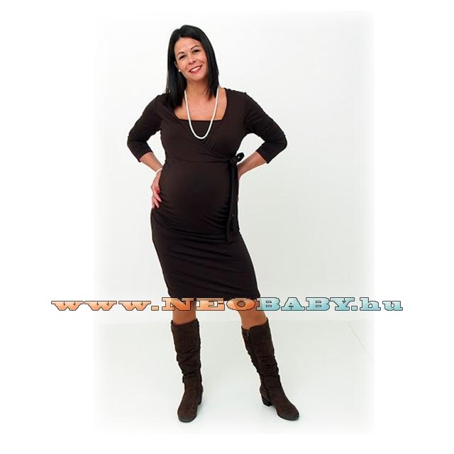 171d9eb704 R&D Szofi kismama ruha (4XL) 01609/fekete - Kismama és szoptatás ...