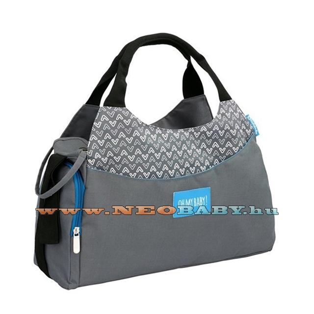 BADABULLE MULTIPOCKET pelenkázó táska B043023 szürke - Kismama és ... 036c8898bb