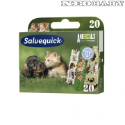 SALVEQUICK  sebtapasz 181054/20db-os  - Animal Planet
