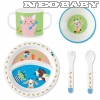 STERNTALER  étkezési szett 6801840/childrens dinner set meadow - Wieslinge