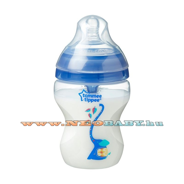TOMMEE TIPPEE Advanced cumisüveg anti-colic 260ml 42257575/kék