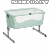 CHICCO Next2me babaágy Col.:DUSTY GREEN