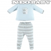 IDO DODIPETTO two pieces rompers suit with feet - rugdalózó /3 hó 4V233.00/5818