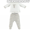 IDO DODIPETTO two pieces rompers suit with feet - Baby szett /3 hó/méret 4V233.00/0112