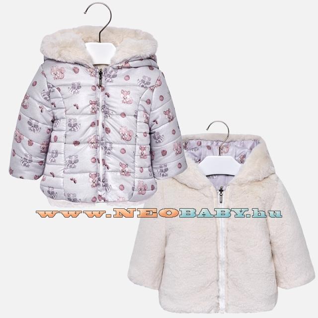67c6880bf4 MAYORAL MODA kifordítható kabát /szürke 4G - 12 hó 2490 - 70 ...