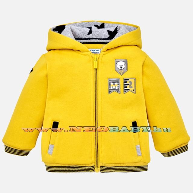 MAYORAL MODA Kenguru pulóver  sárga 3C - 9 hó 2491 - 45 - Ruházat és ... b428c792e6