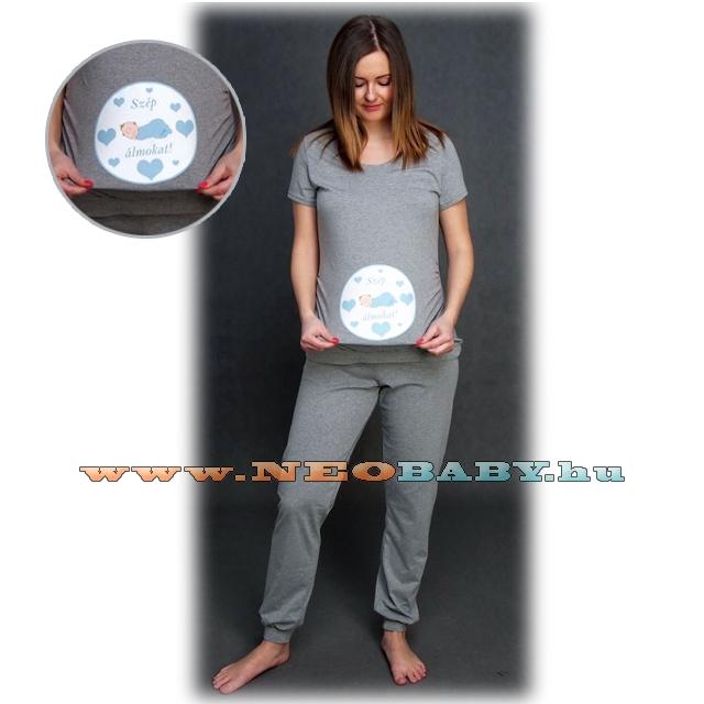 R D kismama pizsama L XL 02104 - kék - Kismama és szoptatás  Kismama ... e92234a7e0