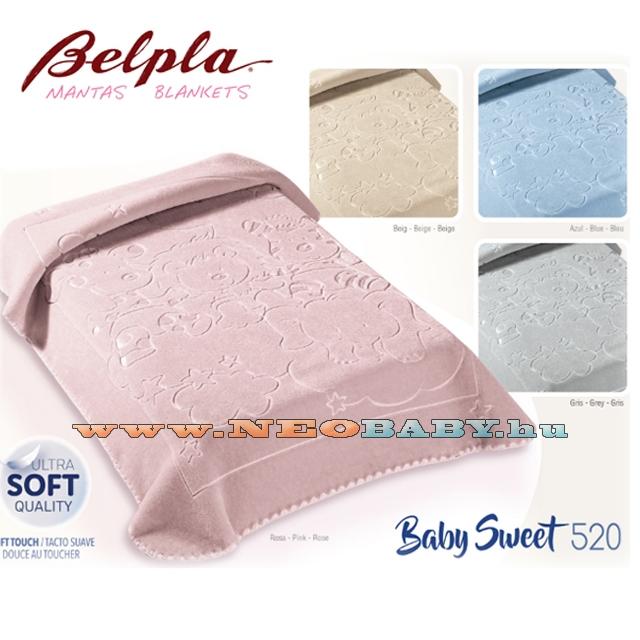 BELPLA Baby Perla Baby Sweet 80 110 pléd 520 rózsa - Ruházat és cipő ... 7d05c67c6b