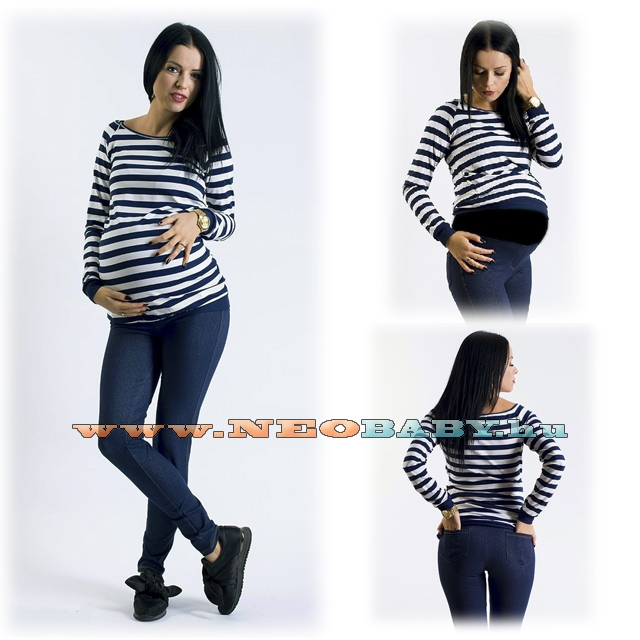 c22836443a R&D kismama nadrág hu leggings farmer (S) 02135/ s.kék - Kismama és ...