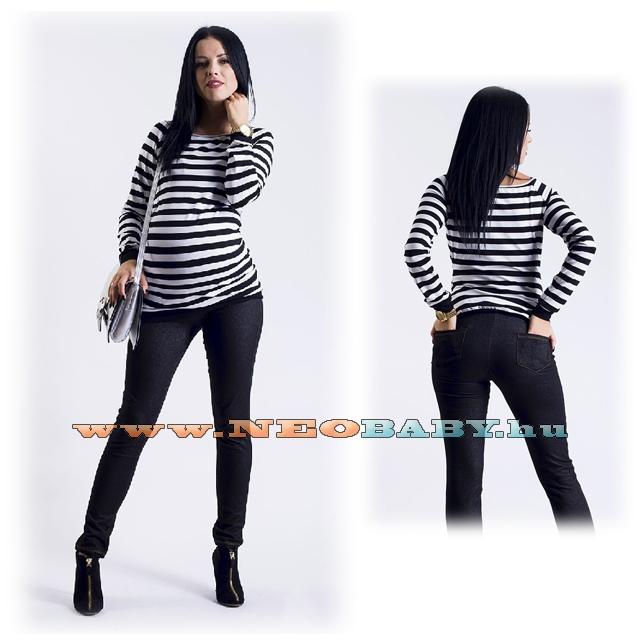 f083021ba4 R&D kismama nadrág hu leggings farmer (S) 02199 /fekete - Kismama és ...