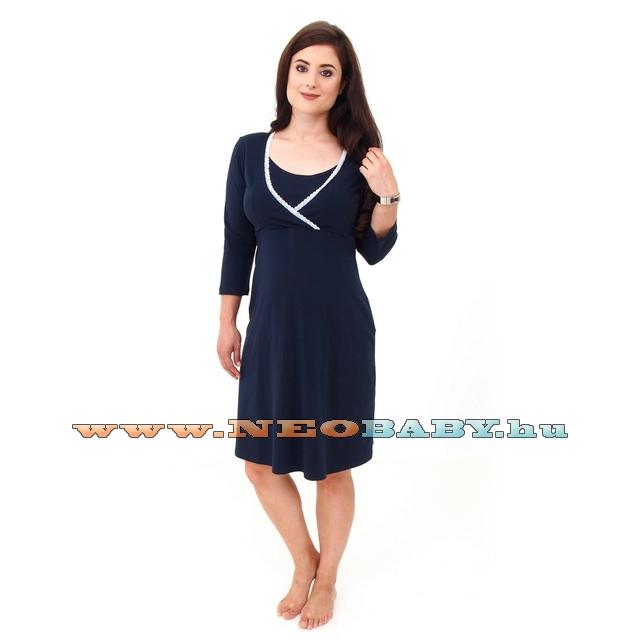 1b55e607db R&D Évi kismama hálóing (XL) 02229/ s.kék - Kismama és szoptatás ...