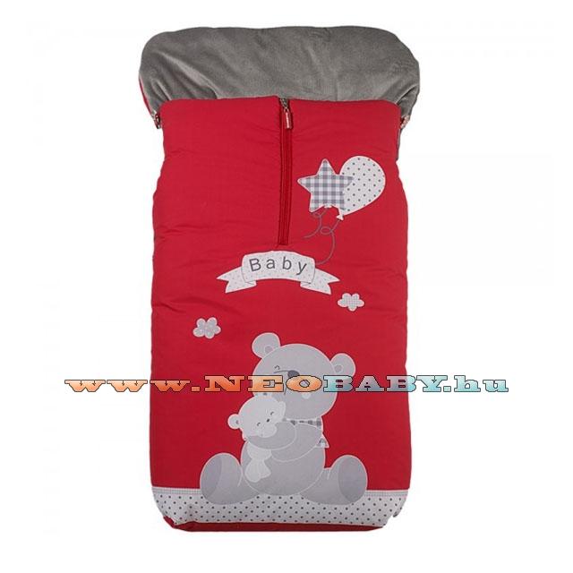 603fe37085 GAMBERRITOS mintás bundazsák 10124 piros - Ruházat és cipő ...