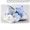 MORA Topitos baba pléd 80x110cm - kék - - Ruházat és cipő  Baba pléd ... 3b98b6cf6c