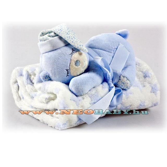 GAMBERRITOS takaró 80x110cm 10162 kék plüssmacival - Ruházat és cipő ... 8aa558cd49