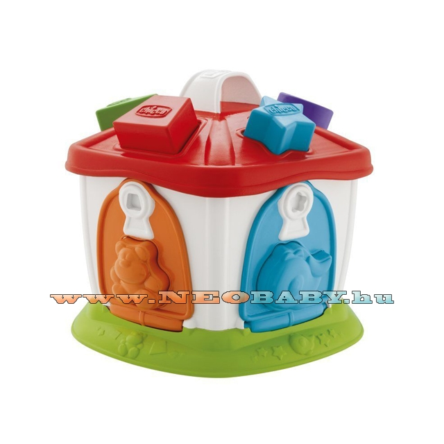 Image of Okos játékok 2in1 állatos házikó 1-4év ch0096100