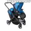 CHICCO Fully Twin iker babakocsi CH0007900360/Power Blue