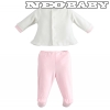 IDO DODIPETTO two pieces rompers suit with feet - 2 részes garnitúra / 6 hó 4K4430.00/8146