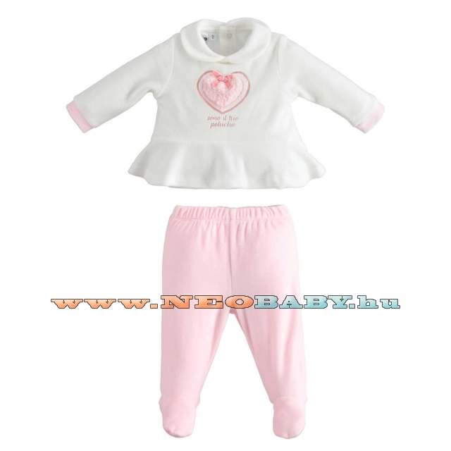 IDO DODIPETTO two pieces rompers suit with feet - 2 részes garnitúra / 12 hó 4K430.00/8146